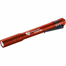 2-PACK STREAMLIGHT 66120 RED STYLUS PRO LED FLASHLIGHT NEW 2016 90 LUMENS