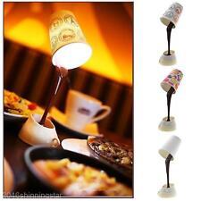 Kreative DIY USB / AAA Nachtlicht Kaffeetasse Form Schreibtisch LED Tischlampe