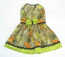 Camo Hunting Little Dog Dress Apparel Pet Clothes Clothing Size M