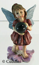 Garden Fairy Figurine Ganz Fairy Wings Gazing Ball Fantasy Mini Nature Flower