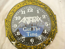 "ANTHRAX 10"" GOT THE TIME gimmick sleeve island 101s476 / 878 699 0"