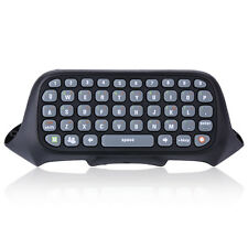 Black Mini Text Messaging Chat Pad Keyboard for Xbox 360 Live Games Controller