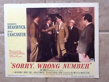 Sorry Wrong Number starring Barbara Stanwyck & Burt Lancaster 1948 Thriller