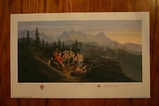 A Cultural Exchange RCMP James Lumbers Signed & Numbered Limited Edition