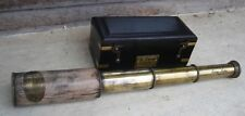 "12"" TELESCOPE MARINE NAUTICAL SPYGLASS ANTIQUE BRASS PIRATE SCOPE Royal Navy"