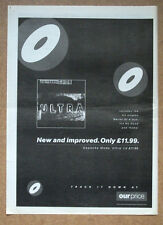 DEPECHE MODE - ULTRA - Music advert 1997 - Poster size 16 x 12 ins