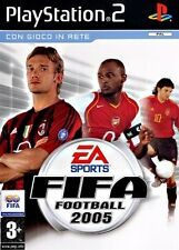 FIFA FOOTBALL 2005 per PS2 PLAYSTATION 2! Con custodia e manuale!