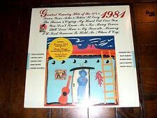 Greatest Country Hits Of The 80's - 1981 SEALED Mint LP Ricky Skaggs Johnny Cash