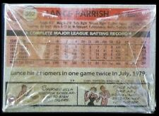 1981 Topps Baseball Grocery Cello Pack - Lance Parrish (Tigers) on the Back - NM