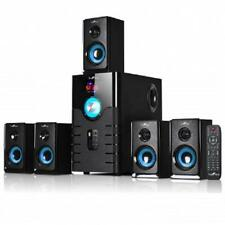NEW*BEFREE*5.1 CHANNEL Surround Sound BLUETOOTH Home Theater SPEAKER SYSTEM*Blue