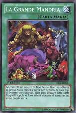 3x La Grande Mandria YU-GI-OH! CBLZ-IT063 Ita COMMON 1 Ed.