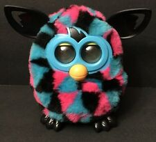FURBY BOOM 2012 -Triangles. (Blue, Pink and Black Triangles). Tested & Working!