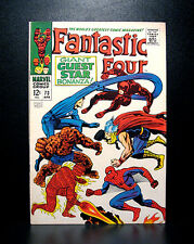 COMICS: Marvel: Fantastic Four #73 (1968), Spiderman/Daredevil/Thor app - RARE