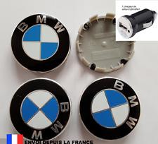 4 logo BMW caches moyeu jante, centre de roue 68 mm emblème neuf