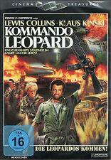 Commando Leopard DVD Ascot Elite Antonio Margheriti Klaus Kinski