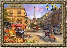 "Chamberart Jigsaw Puzzle 1,000pcs [Paper] 28.9*20 ""73.5*51cmThe streets of Paris"