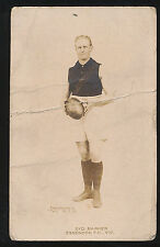 1924 Pals Football card RARE Essendon Syd Barker Victorian League