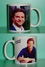 BRADLEY COOPER - with 2 Photos - Designer Collectible GIFT Mug