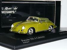 Minichamps 1956 Porsche 356A Cabriolet Light Green LTD ED 1/43