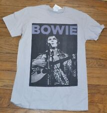 David Bowie T-Shirt Adult Tee Size Small
