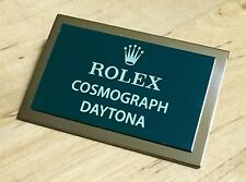 ROLEX COSMOGRAPH DAYTONA Display Plaque 6263 6265 6262 6239 6240 16520 6264 6241