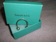 Tiffany & Co Sterling 925 Horseshoe  Small Keyring Keyfob~Tiffany Box-free ship