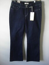 Levi's 526 Slender Women's Boot Cut Size 12 Short Dark Pant Jeans New