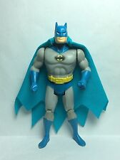 VINTAGE KENNER SUPER POWERS ACCESSORY-BATMAN'S TURQUOISE REPRO CAPE & NECK RING