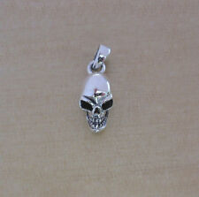 925 Sterling Silver Pirate SKULL Crossbone Pendant