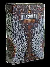 Draconian Brimstone Deck Playing Cards Poker Size LPCC Custom Limited Edition