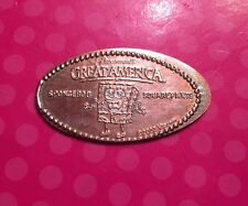 Sponge Bob Square Pants Paramount's Great America Elongated Pressed Penny