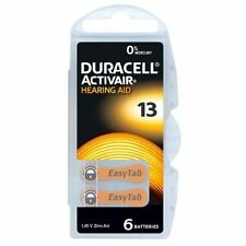 Duracell MERCURY FREE Hearing Aid Batteries Size 13 x 60 cells