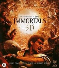 BLU-RAY  3D + 2D  -  IMMORTALS  (2011)  NEW