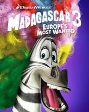 Madagascar 3: Europes Most Wanted (Blu-ray/DVD, 2015, 2-Disc Set) NEW