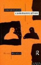 Interpersonal Communication (Studies in Culture and Communication)