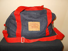 VTG-1980s Levi's Jeans/Denim Duffel Gym Overnight Weekender Shoulder Bag Purse