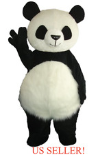 NEW~Panda Bear Mascot Costume! Adult Size! Party SALE High Quality~US SELLER!!