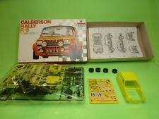 ESCI KIT (unbuilt) 3048 RENAULT R5 CALBERSON RALLY - YELLOW 1:24 - VGIB