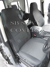 LAND ROVER  DISCOVERY 2003 CAR SEAT COVERS CHARCOAL BLACK