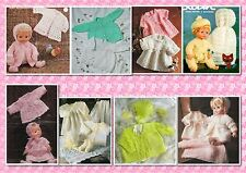 45+ Prem, Babies & Doll CROCHET & KNITTING PATTERNS