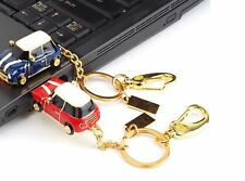 RED 16GB Mini COOPER 2.0 USB Flash Pen Drive Memory Stick Pollice rotante chiave USB