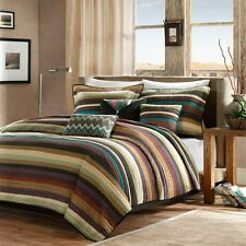 Madison Park Yosemite 6 Piece Quilted Coverlet Set King Multi
