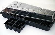 Seed Starter Germination Station Complete Kit w/ Dome, 72 Cell Tray and Growing