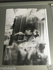 MIREILLE MATHIEU - PHOTO DE PRESSE ORIGINALE  24x18cm
