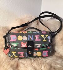 Preloved Dooney & Bourke Crossbody ~ Converts to Shoulder Bag ~ Very nice!