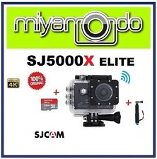 SJCAM SJ5000X WiFi Action Camera (Black) + Monopod + Sandisk Ultra microSD 32GB