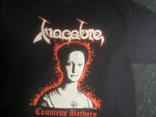 MACABRE ELIZABETH COUNTESS BATHORY 3X SHIRT black death metal  VENOM NEW DESIGN