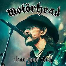 Motörhead - Clean Your Clock (Audio CD / Blu-ray - Jun 24, 2016) NEW