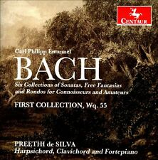 Preethi de Silva, Bach, C.P.E.: Six Collections of Sonatas, Free Fantasias, Rond