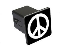 Peace Sign - Tow Trailer Hitch Cover Plug Insert Truck Pickup RV